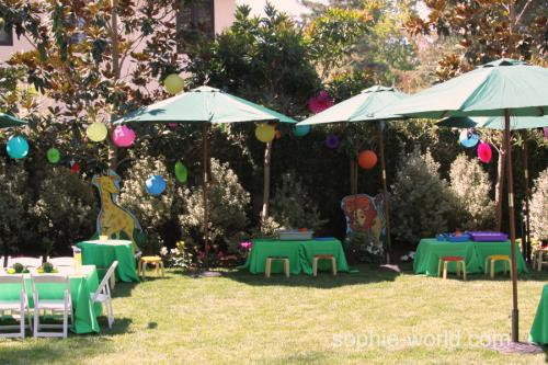 jungle party wide | sophie-world.com