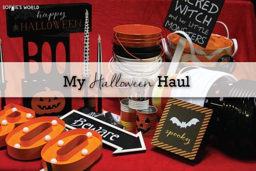 My Halloween Haul|Decor Options|sophie-world.com