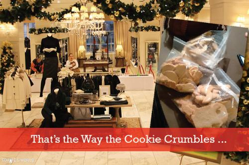 Brooks Brothers Holiday Party|Cookie Crumbles Tale|sophie-world.com
