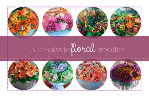 Creatively Floral Wedding|sophie-world.com