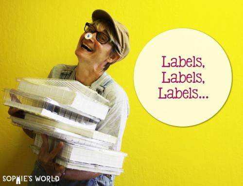 Labels, labels, labels... all about my label provider, OnlineLabels.com.