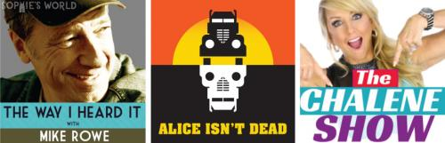 The Way I Heard it with Mike Rowe, Alice isn't Dead, The Charlene Show