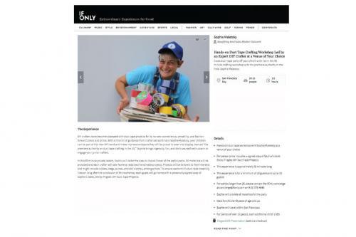 ifonly.com|duct tape workshop|sophie-world.com