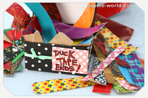 End of the Rolls of Duct Tape sophie-world.com