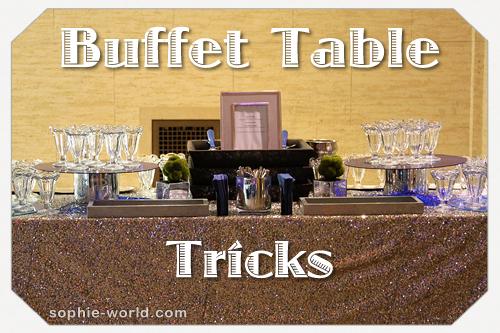 Buffet table tricks sophies world buffet table trickssophie world watchthetrailerfo