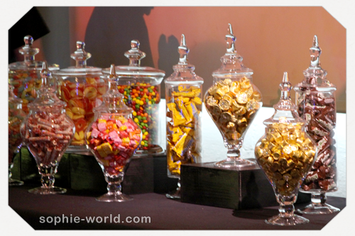 One of our amazing candy bars sophie-world.com