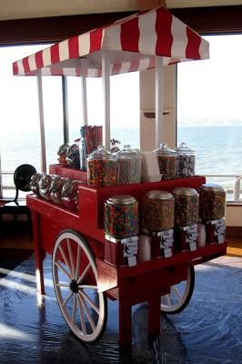 Our fabulous candy cart|sophie-world.com