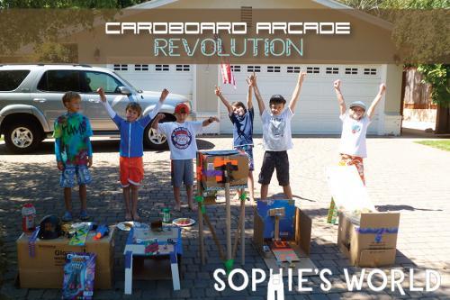 Make your own Cardboard Arcade|sophie-world.com