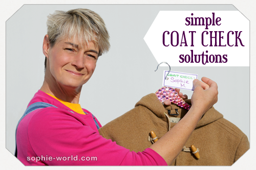 simple coat check solutions sophie s world