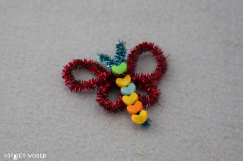Pipe Cleaner Butterfly & 20 Crafts for $20 - Part One | Sophieu0027s World