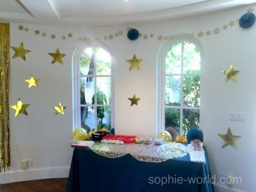 golden party decor 1   sophie-world.com