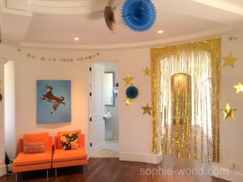 golden party decor 2   sophie-world.com