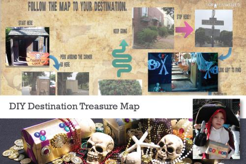 Treasure Map Party Theme|sophie-world.com
