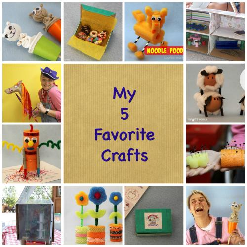 Five favorite crafts | sophie-world.com