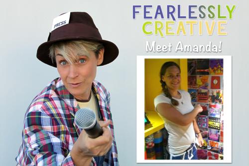 Fearlessly Creative Amanda sophie-world.com