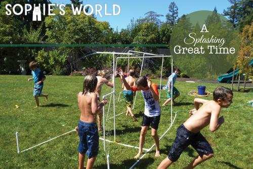 A Splashing Great Time - Backyard Water Games