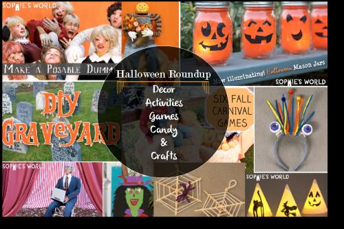 A Halloween Craft Roundup|sophie-world.com