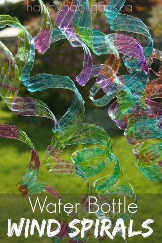 recycled wind spirals