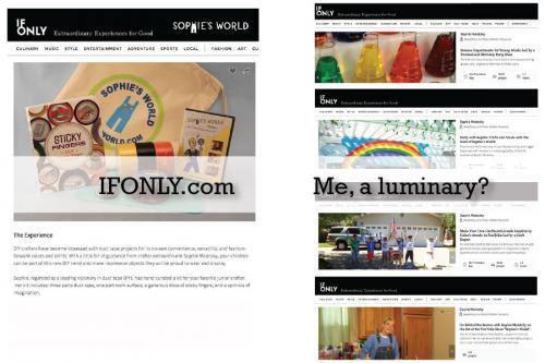 Me a luminary?|Ifonly.com|sophie-world.com