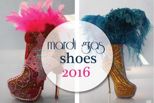 Mardi 2016 - Featuring sparkly creations by Freda Maletsky