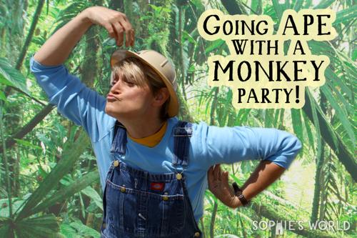 A Monkey Party sophie-world.com