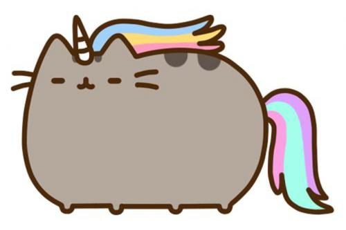 Pusheen the Cat Kawaii Unicorn sophie-world.com