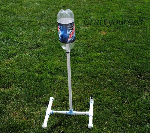 Water Rockets Made Out Of Soda Bottles: You Made It! I Love It!: Soda Bottle Rockets
