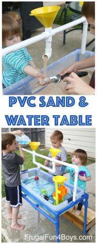 PVC Sand and Water Table   sophie's world
