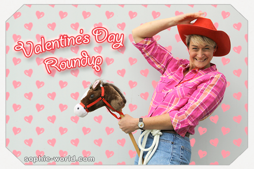 A round up of Valentine's day ideas from Sophie's World