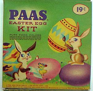 a vintage Paas box | sophie-world.com