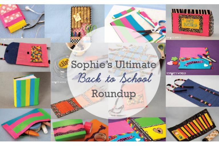 Back to School Roundup 2015|sophie-world.com