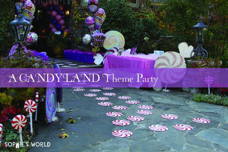 Blog- Candyland Theme Party|sophie-world.com