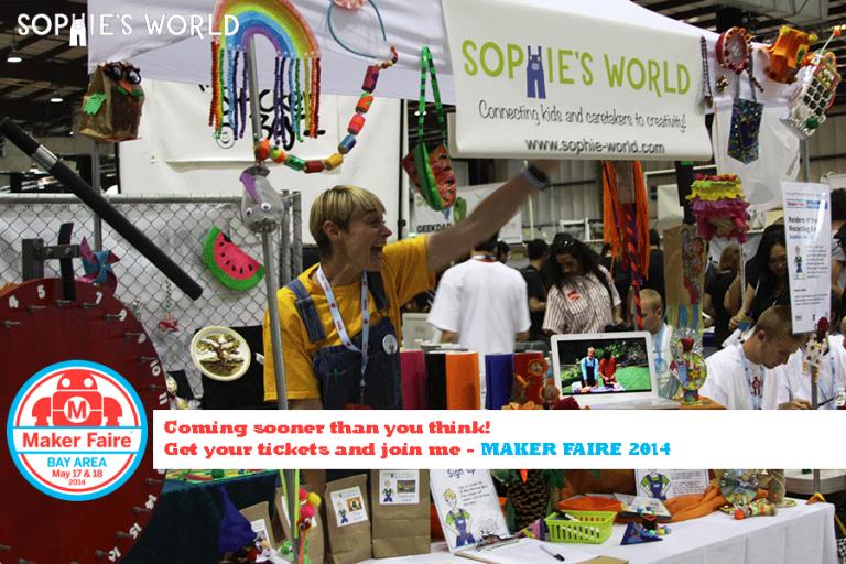 Meet me at the Maker Faire|sophie-world.com
