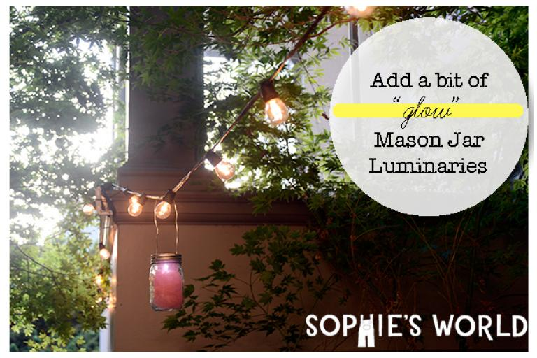 Mason Jar Luminaries|Decorations|sophie-world.com