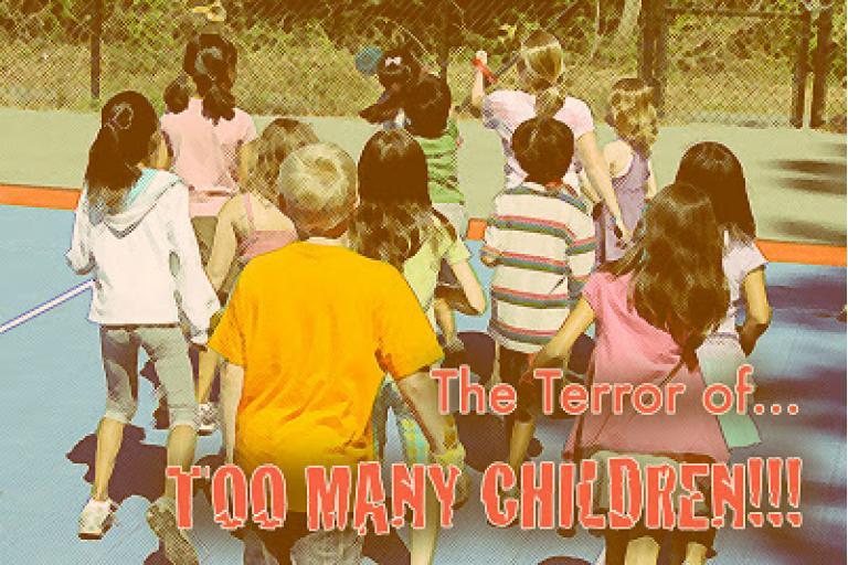 Too Many Children|sophie-world.com