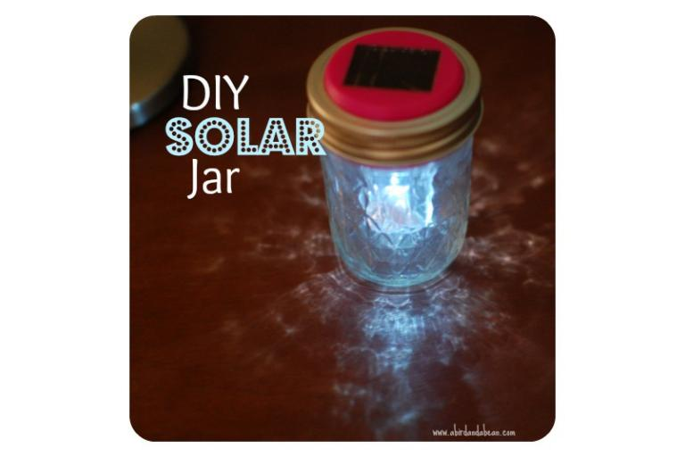 How to make a solar light in a jar - A Sophie's World Pick