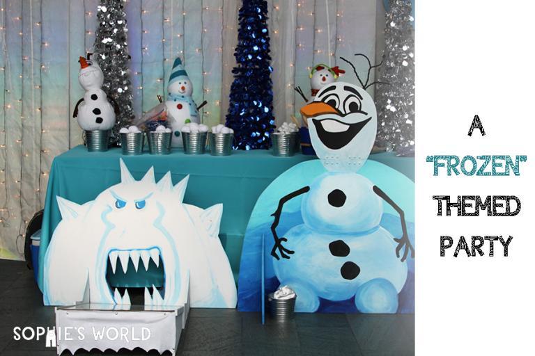 Frozen Themed Birthday|sophie-world.com