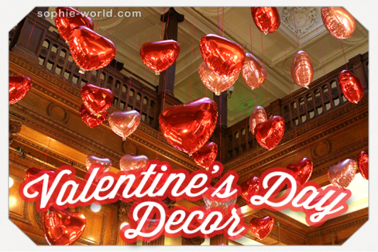 Valentine's Day Decor|sophie-world.com