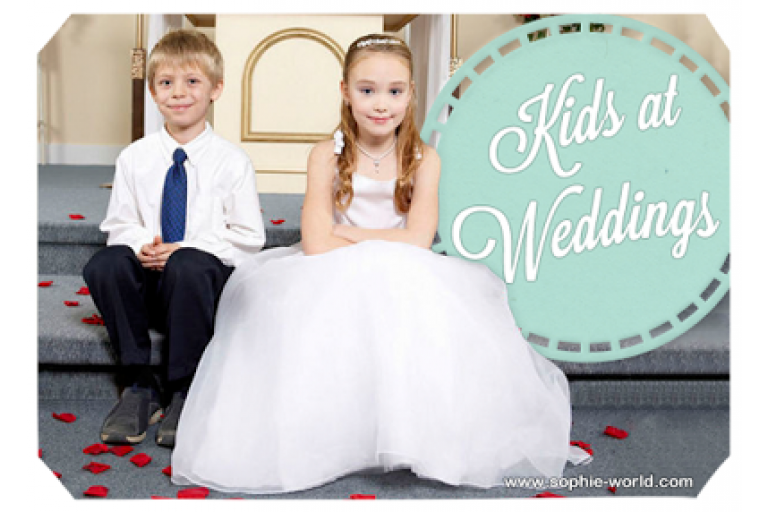 Kids at Weddings|sophie-world.com