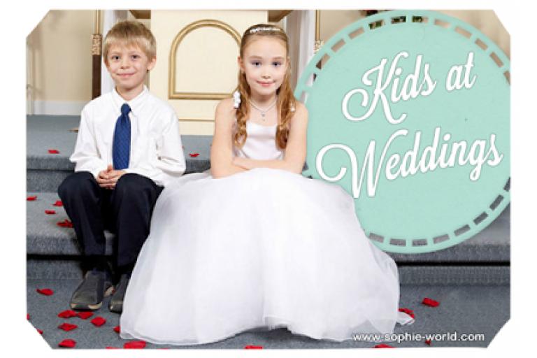 Kids at Weddings sophie-world.com