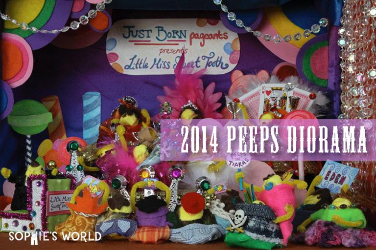 2014 Peeps Diorama|sophie-world.com