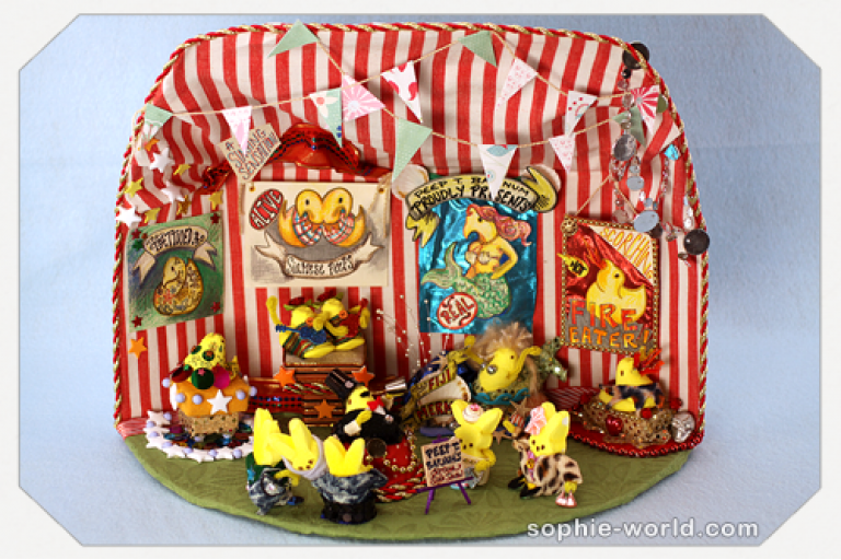 The amazing peeps tent|sophie-world.com