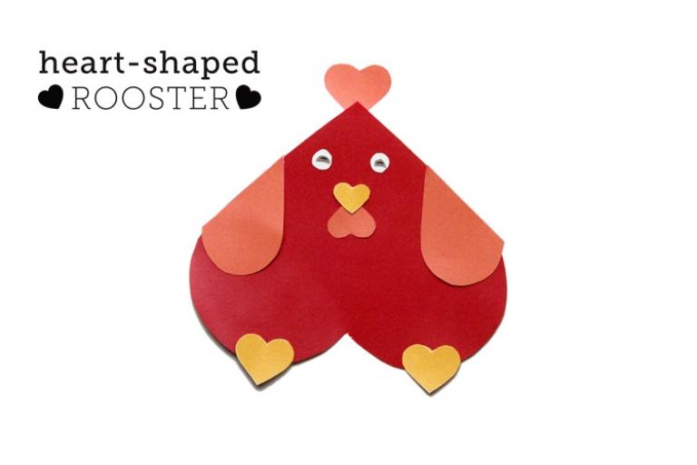 heart shaped rooster from personalcreations.com | sophie-world.com