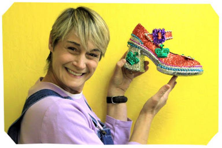 Sophie and the Mardi Gras Shoes|sophie-world.com