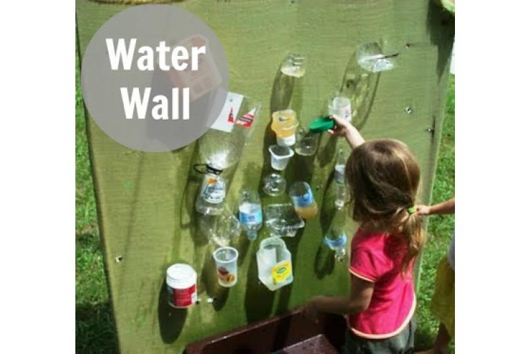 How to make a water wall - A Sophie's World Pick