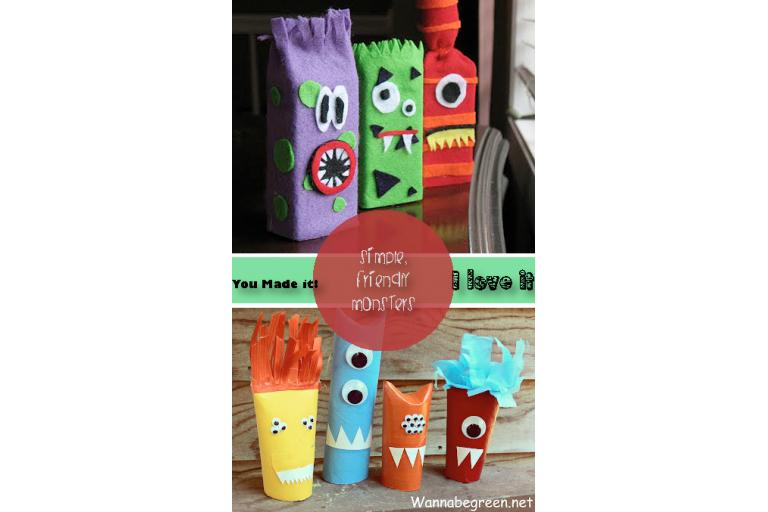 recycled monsters|sophie-world.com