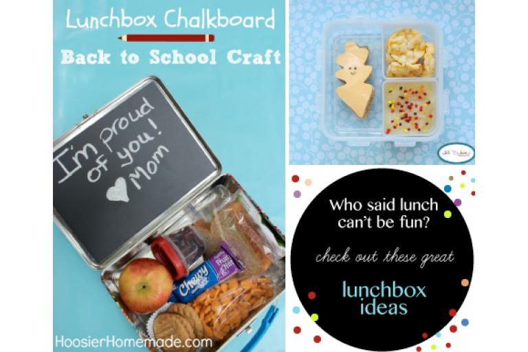 Here are some alternatives for your child's lunch box via sophie-world.com