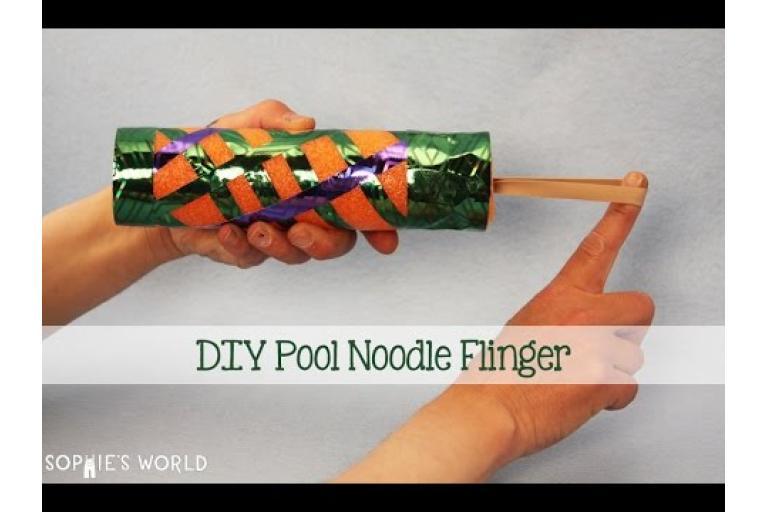 pool noodles | my blue flamingo  |Art Bot Pool Noodle