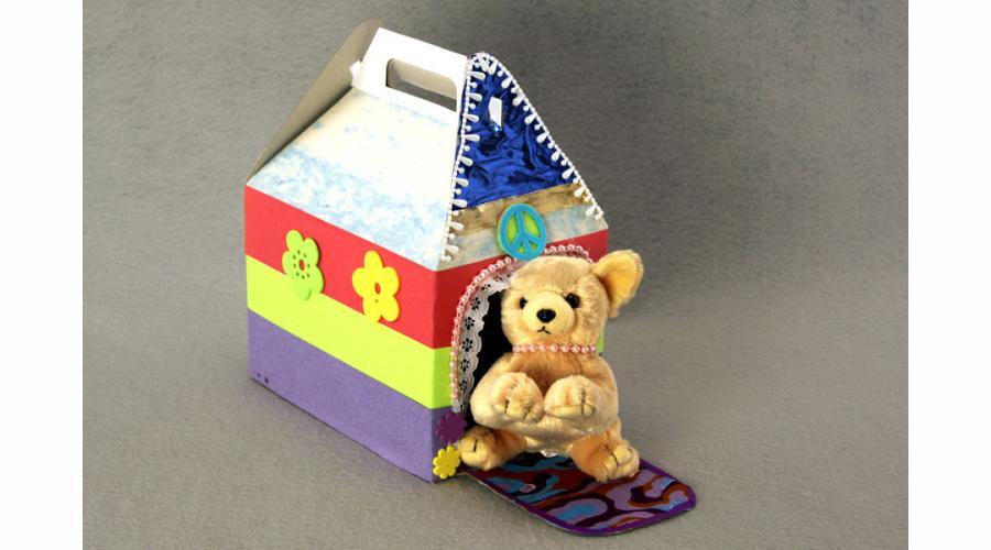 Stuffed Animal Pet Carrier