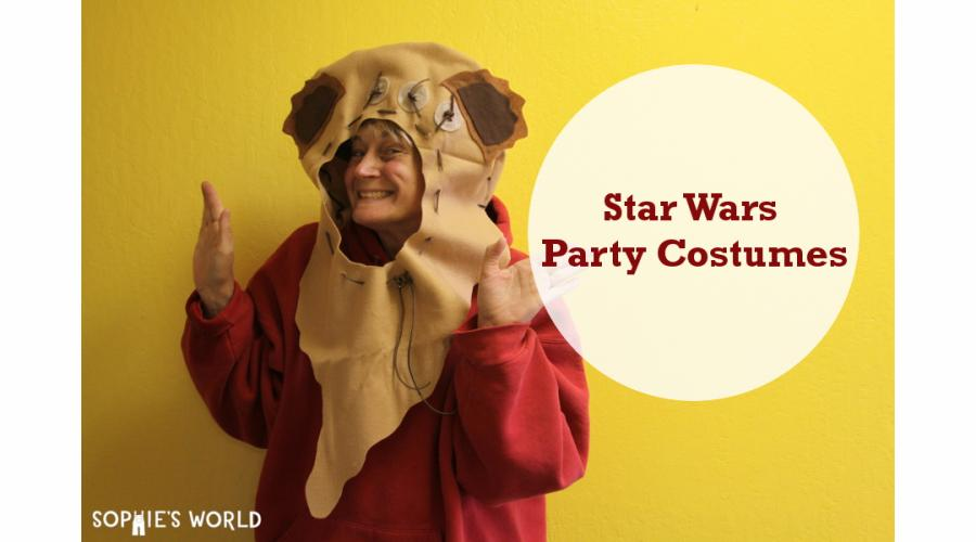 Sophie's world- Star Wars Party Costumes